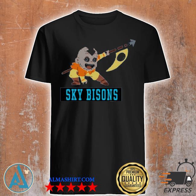 Air nomads sky bisons shirt