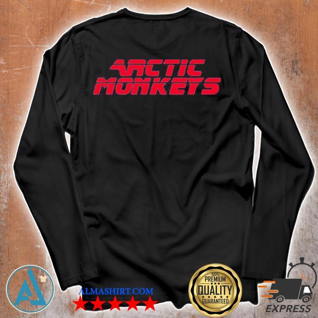 Arctic monkeys merch 80's sci-fi s Unisex longsleeve