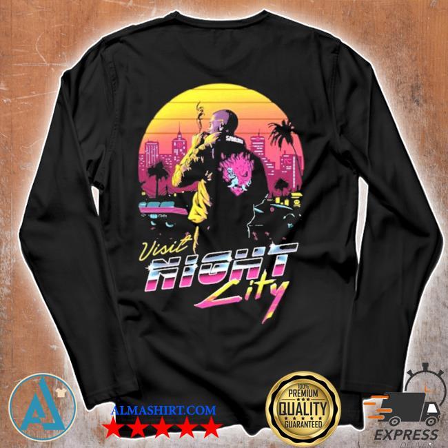 Cyberpunk 2077 Welcome to Night City T-shirt