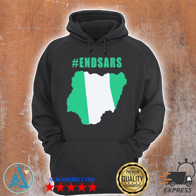 #endsars shirt #endbadgoveranceinnigeria protesting against police brutality in nigeria s Unisex Hoodie