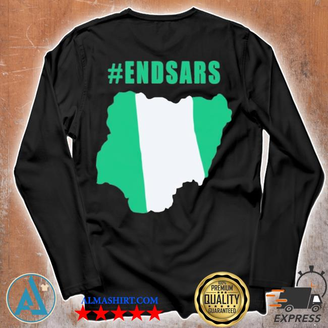 #endsars shirt #endbadgoveranceinnigeria protesting against police brutality in nigeria s Unisex longsleeve