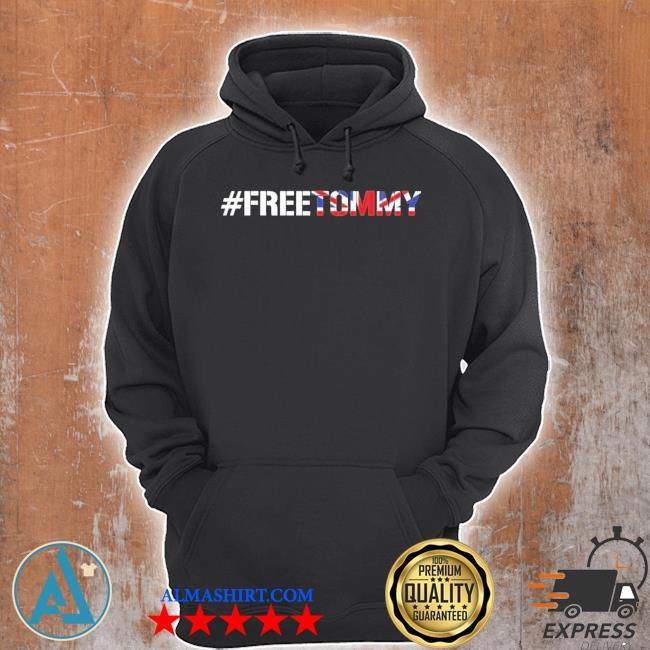 #freetommy robinson u.k. arrested journalist s Unisex Hoodie
