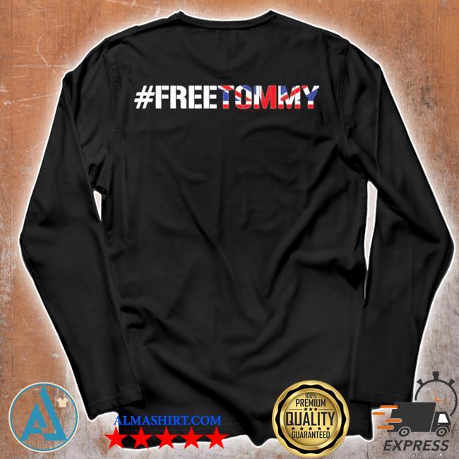 #freetommy robinson u.k. arrested journalist s Unisex longsleeve