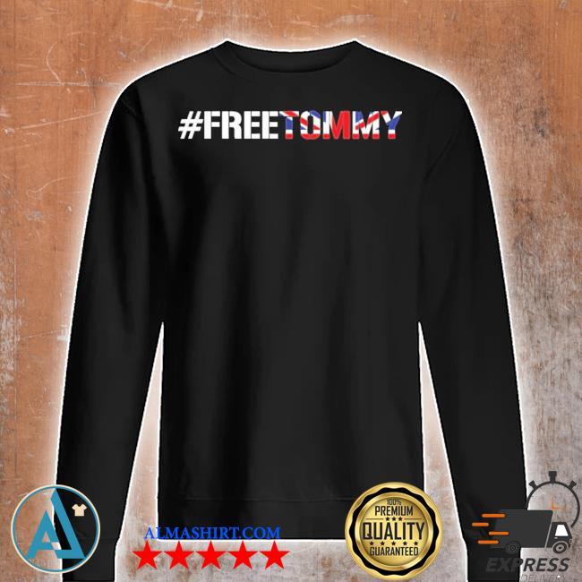 #freetommy robinson u.k. arrested journalist s Unisex sweatshirt
