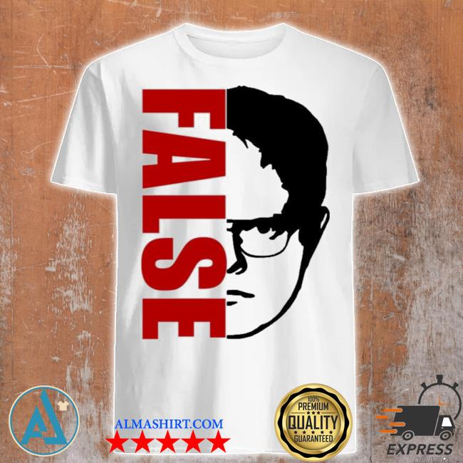 Red The Office Dwight False Mens Tank Top