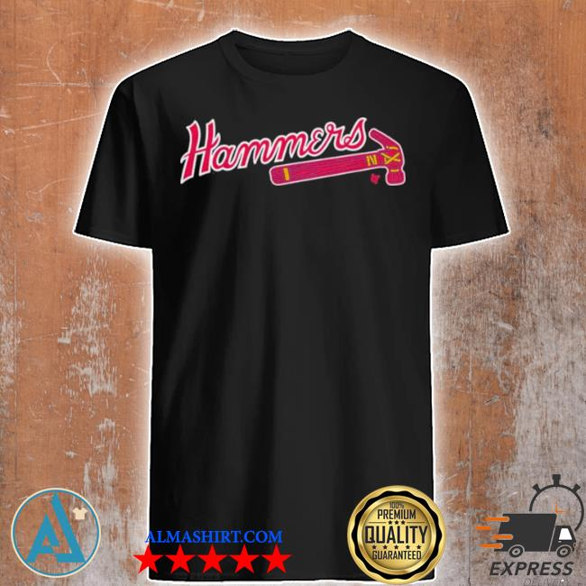 Atlanta hammers atlanta baseball shirt