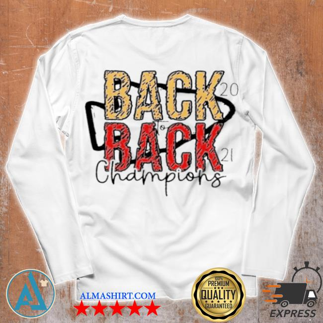 Back to back 2021 champions with Kansas city Chiefs s Unisex longsleeve