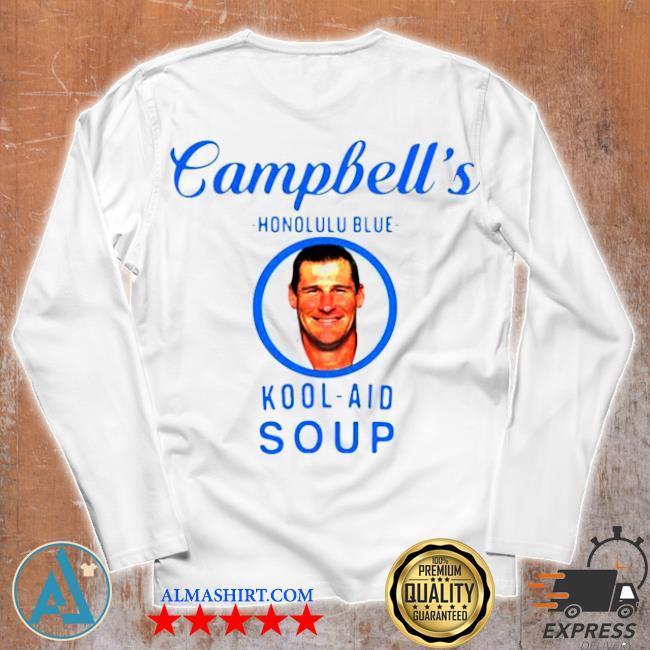 Campbell's honolulu blue kool aid soup s Unisex longsleeve
