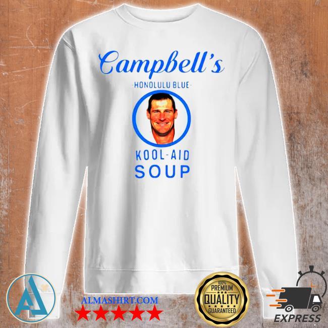 Campbell's honolulu blue kool aid soup s Unisex sweatshirt