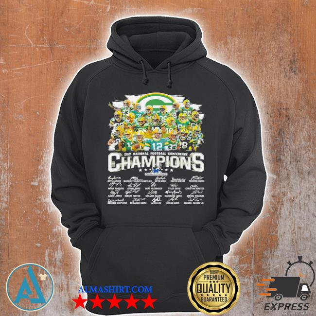 Champions national football conference green bay packers signature s Unisex Hoodie