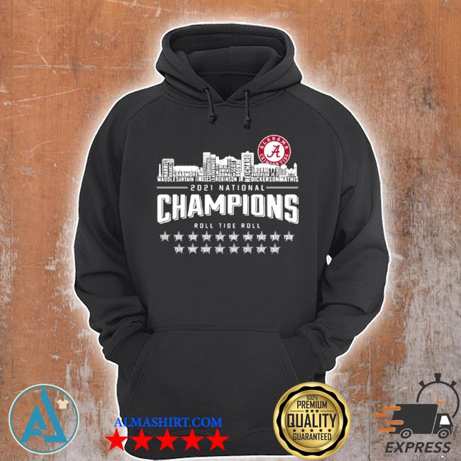 Crimson tide 2021 national champions roll tide roll 1935 2021 s Unisex Hoodie
