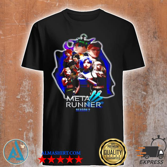 Glitch productions meta runner season shirt
