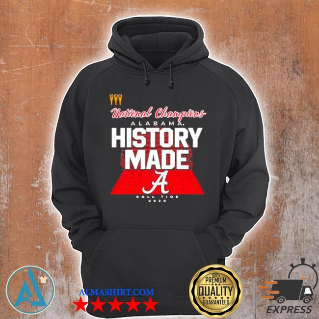 History made alabama 2021 national championship 18th s Unisex Hoodie