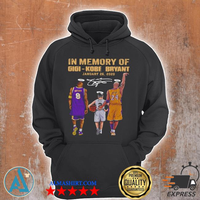 In memory of gigI kobe bryant january 26 2021 s Unisex Hoodie