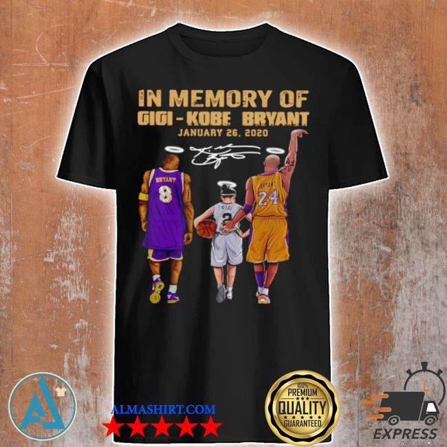 In memory of gigI kobe bryant january 26 2021 shirt