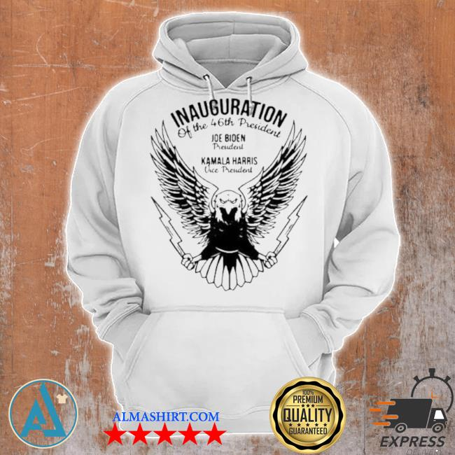 Inauguration of the 46th president Joe Biden president Kamala Harris vice president s Unisex Hoodie
