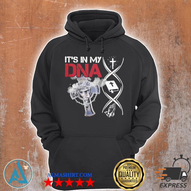 It's in my DNA cross christian jesus s Unisex Hoodie