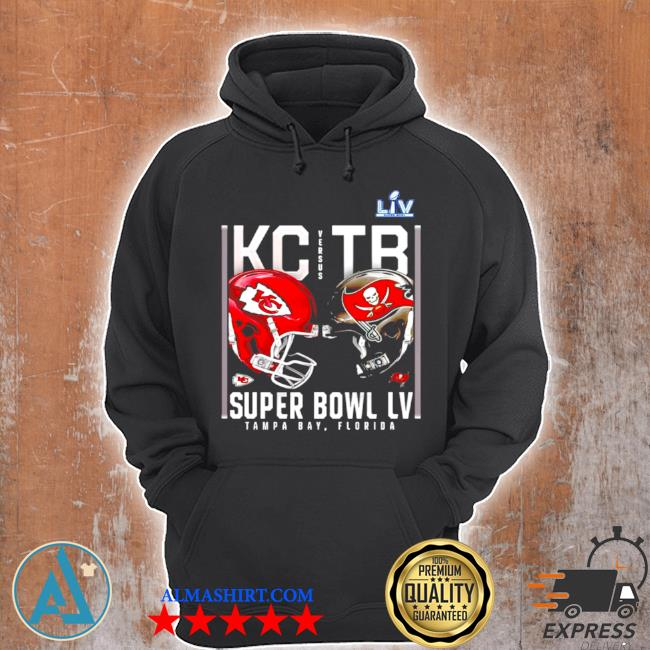 Kansas city Chiefs and tampa bay buccaneers super bowl lv s Unisex Hoodie