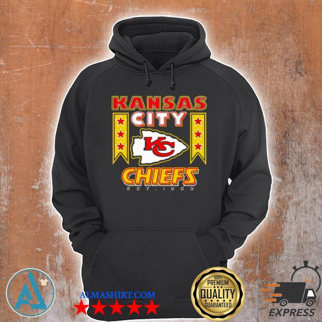 Kansas city Chiefs logo est 1960 s Unisex Hoodie
