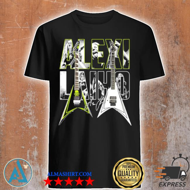 MexI laiho guitar band music shirt