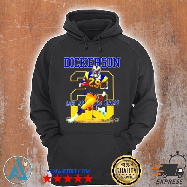 Ness Eric Dickerson 29 Los Angeles Rams s Unisex Hoodie