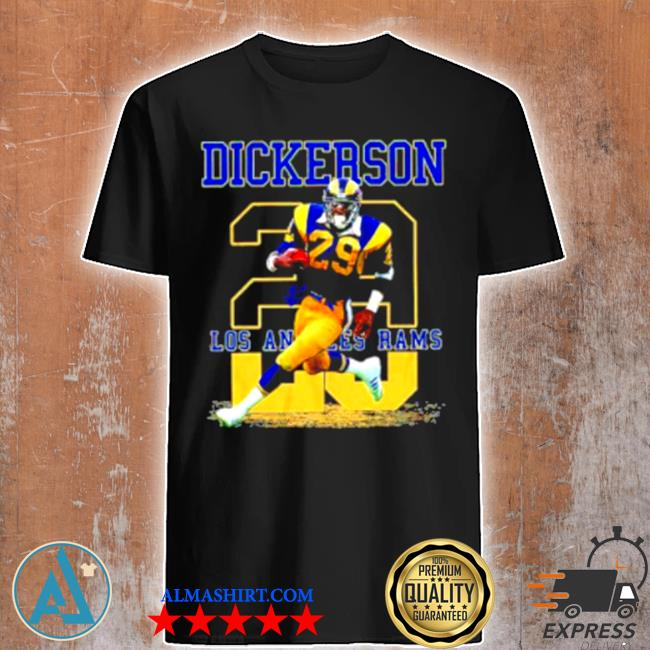 Ness Eric Dickerson 29 Los Angeles Rams shirt