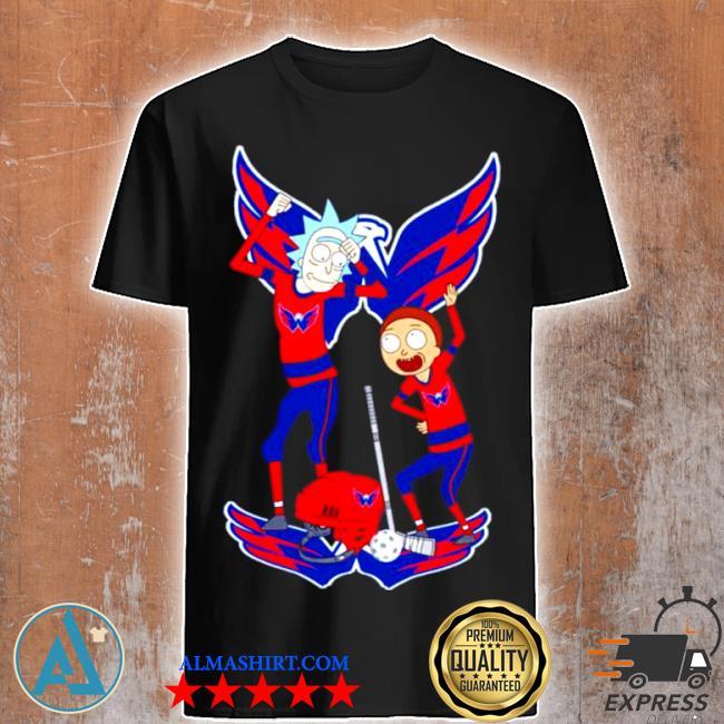 Nhl Washington capitals rick and morty shirt