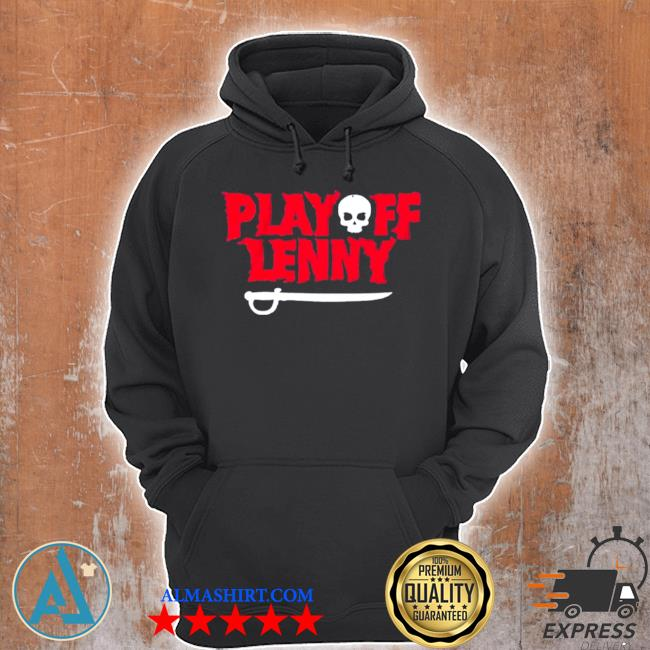 Playoff lenny tampa bay football skull s Unisex Hoodie