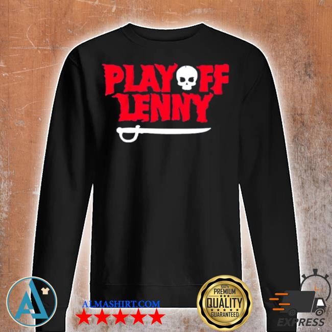 Playoff lenny tampa bay football skull s Unisex sweatshirt