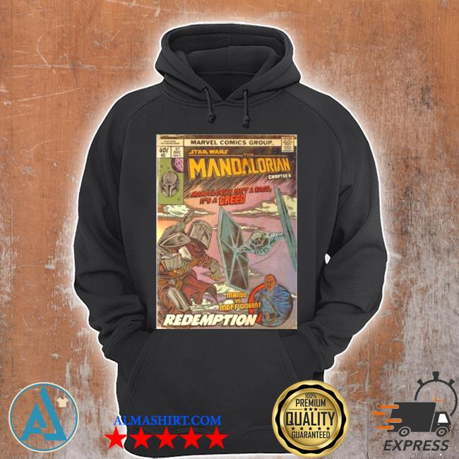 Star wars the madalorian redemption poster s Unisex Hoodie