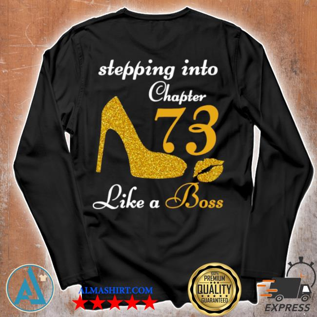 Stepping into chapter 73 like a boss s Unisex longsleeve