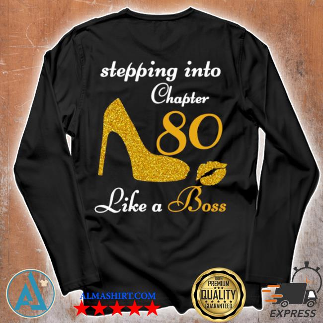Stepping into chapter 80 like a boss s Unisex longsleeve