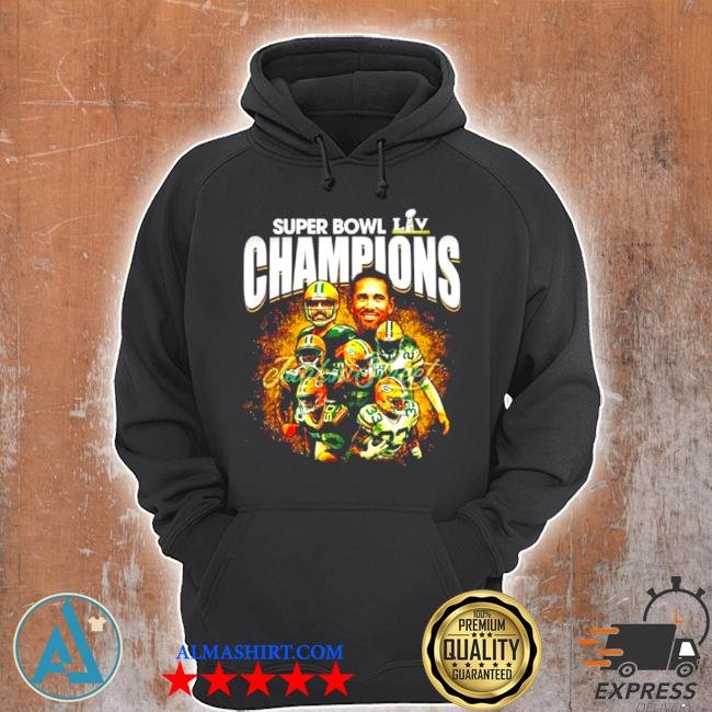 Super bowl liv champions green bay packers s Unisex Hoodie