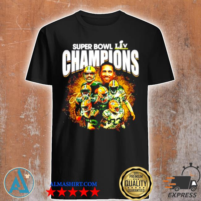 Super bowl liv champions green bay packers shirt