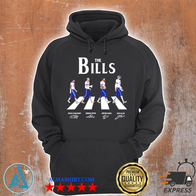 The Bills abbey road signatures s Unisex Hoodie