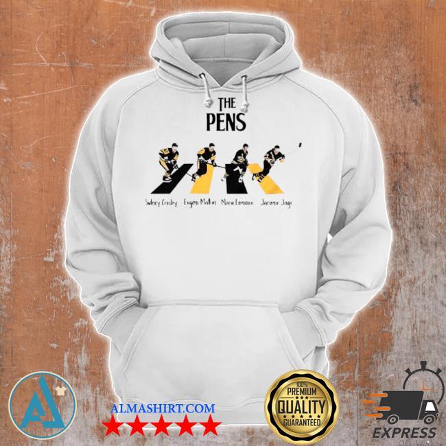 The Pittsburgh penguins sidney crosby evgenI malkin abbey road s Unisex Hoodie