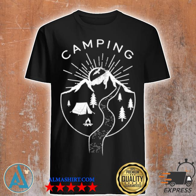 Vintage outdoor camping shirt