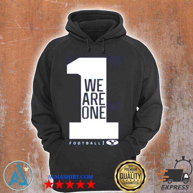 We are one byu football s Unisex Hoodie
