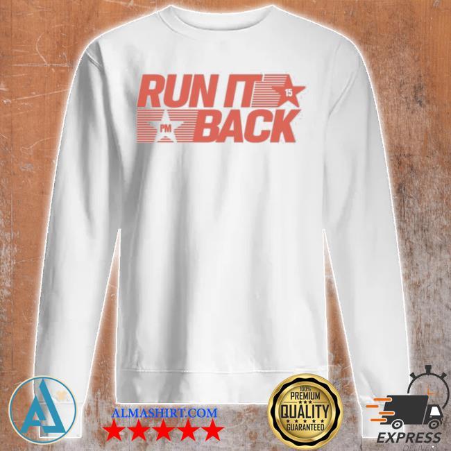 Patrick mahomes iI merch throwback run it back everyday s Unisex sweatshirt